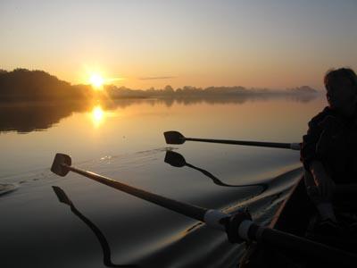 Morgen på søen